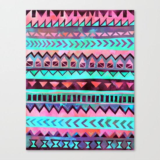 Tribal Pattern 05 Canvas Print