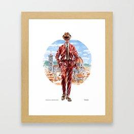 The Florentine Man Framed Art Print