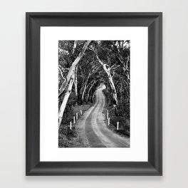 Winding Road - Barossa Valley, South Australia Framed Art Print