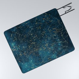 Under Constellations Picnic Blanket