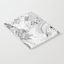 Ornate Pattern-large Notebook