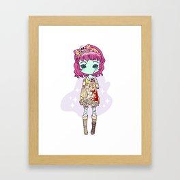 Dead eyes Framed Art Print