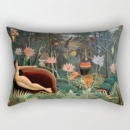 Henri Rousseau - The Dream Rectangular Pillow