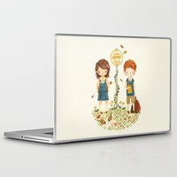 school Laptop & iPad Skins featuring Back to School by Teagan White