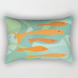 Seek and hide Rectangular Pillow