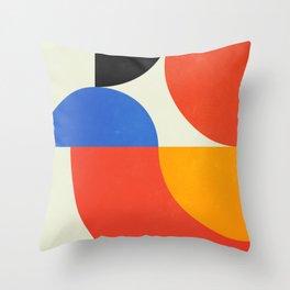 Bauhaus Exhibition 1923 II: Mid-Century Series Throw Pillow