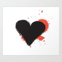 I Heart Live Art II Art Print