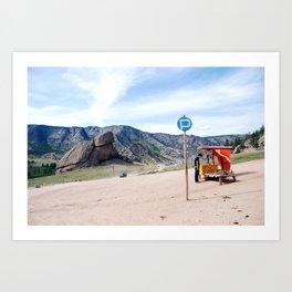 Mongolia 2 Art Print