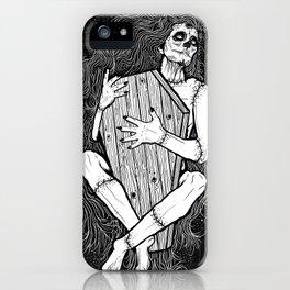 MUERTE ABRAZO iPhone Case