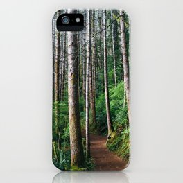 Trees: III // Oregon iPhone Case