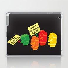 Stop Gummibear Cruelty! Laptop & iPad Skin