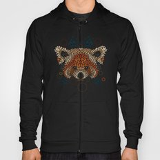 Red Panda Face Hoody