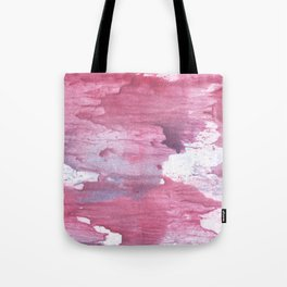 Pale violet red abstract watercolor Tote Bag