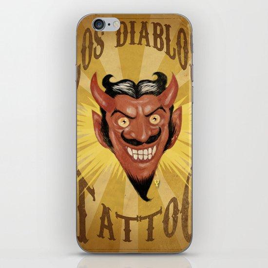 Los Diablos iPhone & iPod Skin
