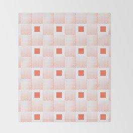 Rachel's Wavy Coral Pattern Throw Blanket