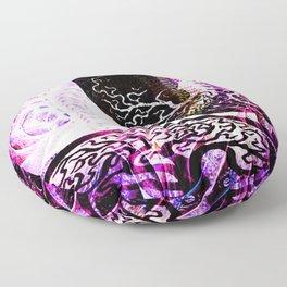 Purple Opposition Floor Pillow