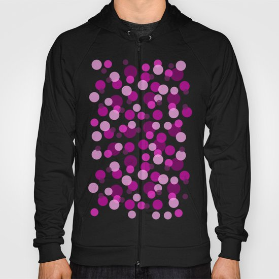 Pink and Purple Spots Hoody