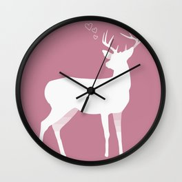 You're a Deer to me Wall Clock