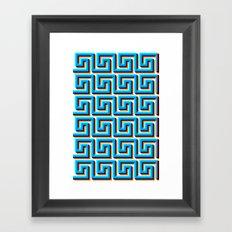 Pixel Wave no.2 Framed Art Print
