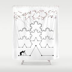the Constellations Shower Curtain