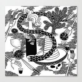 El Tequila Canvas Print