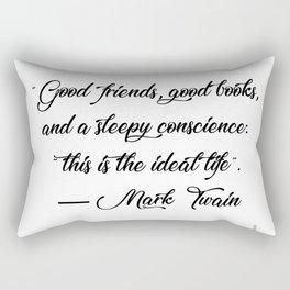 Quote 1 Rectangular Pillow