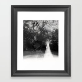 winter fantasy Framed Art Print