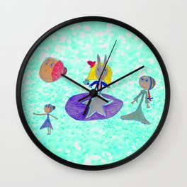 Alice | Up to the light sky Wall Clock