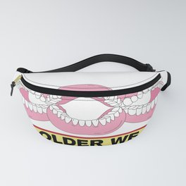 Old People Gag Gifts Women Men DON'T PISS OFF OLD PEOPLE Fanny Pack