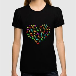 Love Heart Origami T-shirt