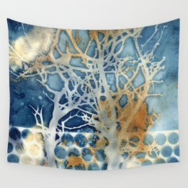 Between the Trees Wall Tapestry