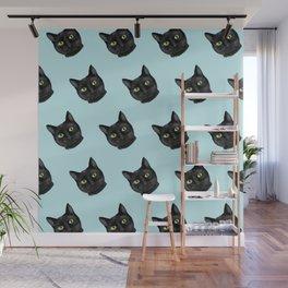 Black Cat Appreciation Day Wall Mural