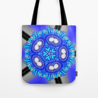 celestial Tote Bags featuring Celestial by Susan Laine Studios
