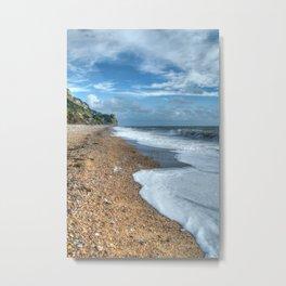 Branscombe Beach Metal Print
