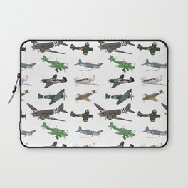 Multiple WW2 Airplanes Laptop Sleeve