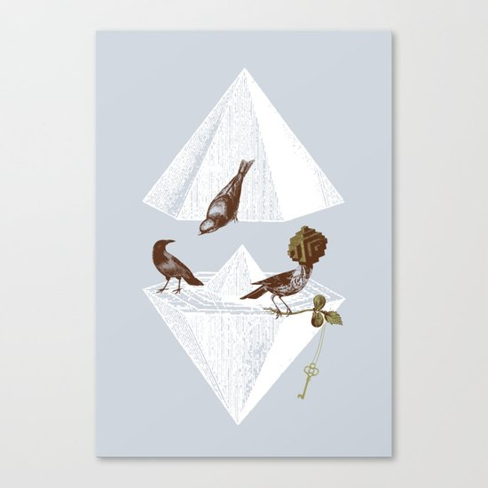 Guardian of Secrets Canvas Print