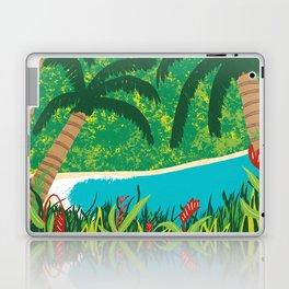 Tropical Island Getaway Laptop & iPad Skin