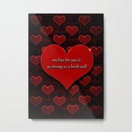 valentines 1 Metal Print