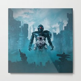 Shadow of the Cyclops Metal Print