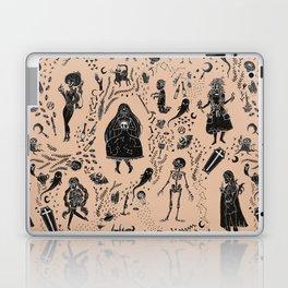 Creatures of the Night (orange) Laptop & iPad Skin