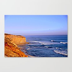 Sunset over the Great Southern Ocean Canvas Print