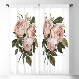 Three English Roses Blackout Curtain
