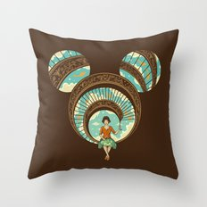 World of Imagination Throw Pillow