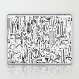 Medical Condition B&W Laptop & iPad Skin
