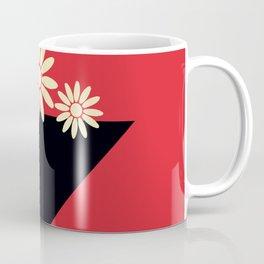 Abstract Vase Coffee Mug