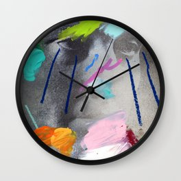 Composition 526 Wall Clock