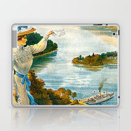 Furness Railway and Lady of the Lake Laptop & iPad Skin