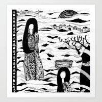 GLOOMY Scene Art Print