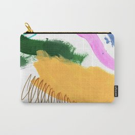 Abstract Brushes Pattern Carry-All Pouch