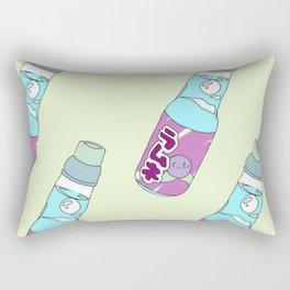 Kawaii Blueberry Soda Drink Rectangular Pillow